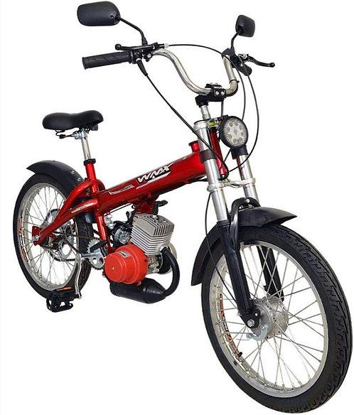 Bikelete Bicicleta Motorizada WMX Sport 2 Tempos PRETA