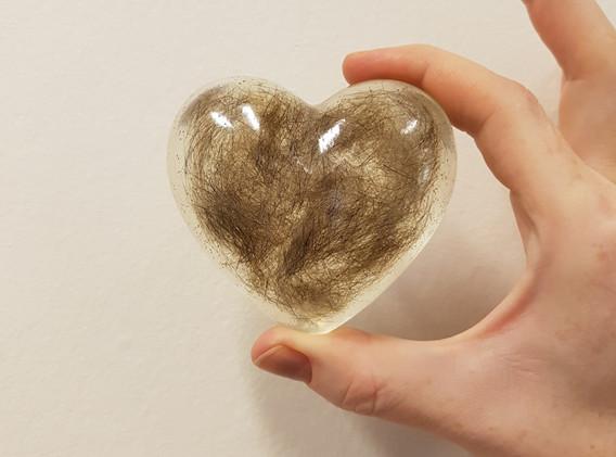 Hjerte med kort pels