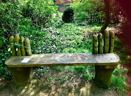 The Bench (April 4th) by Gillian