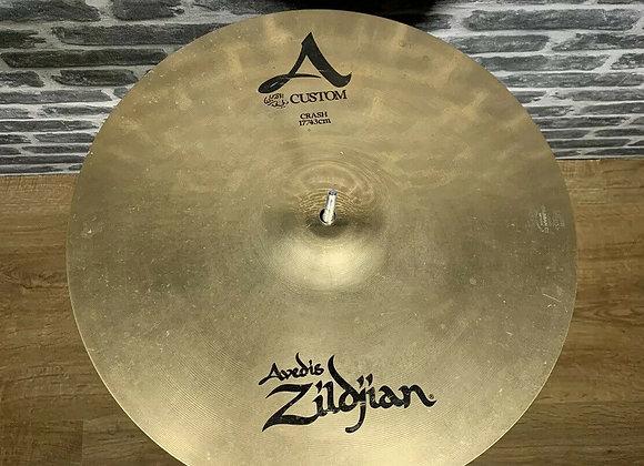 """17"""" Zildjian A Custom Crash Cymbal #270"""