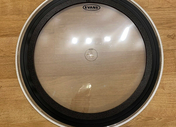 """Evans 24"""" EMAD2 Clear Bass Batter Head Skin #267"""