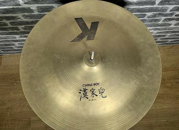 """19"""" Zildjian K China Boy Cymbal #270"""
