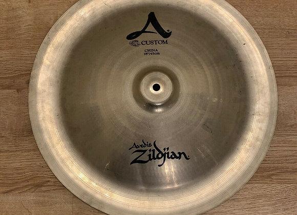 """Zildjian A custom 18"""" China Cymbal #261"""