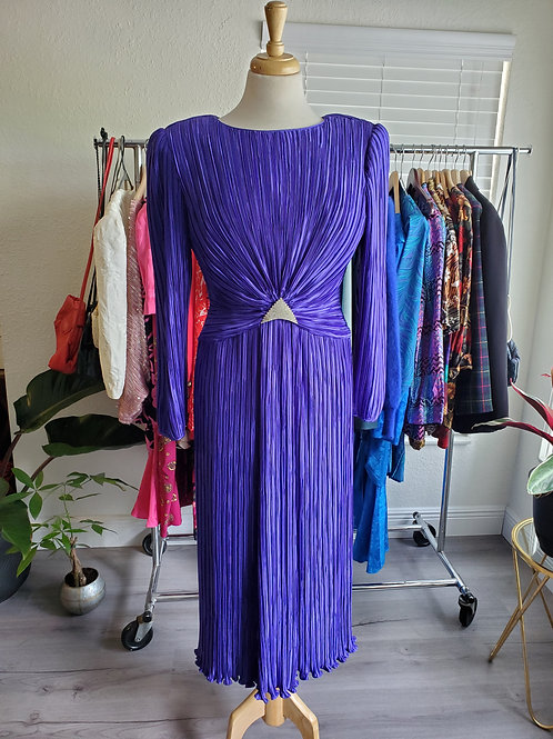 Dynasty purple vintage dress