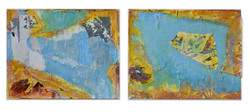 """summershine     set of 2 each 24"""" x 30"""" from July 2020"""