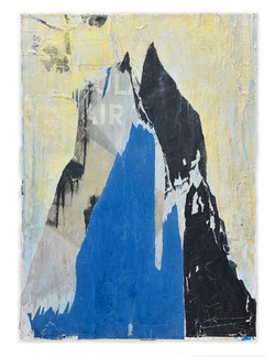 "iceberg   36"" x 48"" winter 2020"