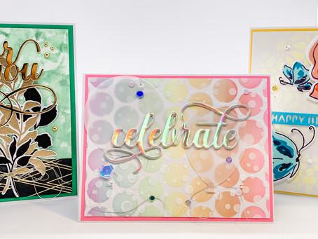 Celebration: Stencil Techniques