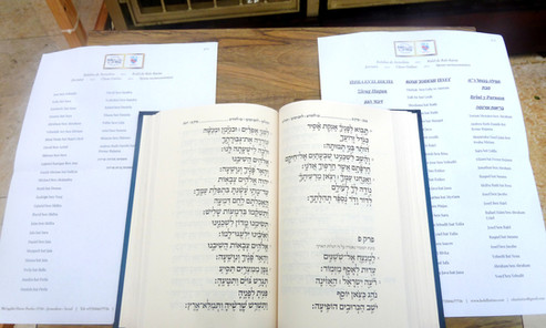 Tefila en el Kotel Rosh Jodesh Tevet