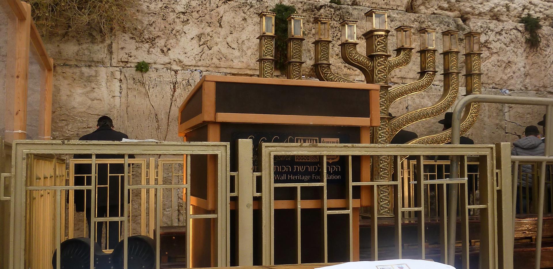 Tefilá en el Kotel Rosh Jodesh Tevet