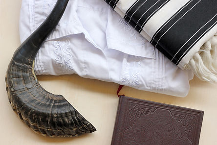 Prayer items for Jewish repentance day (