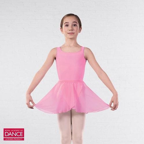 Pink Wrapover Chiffon Skirt
