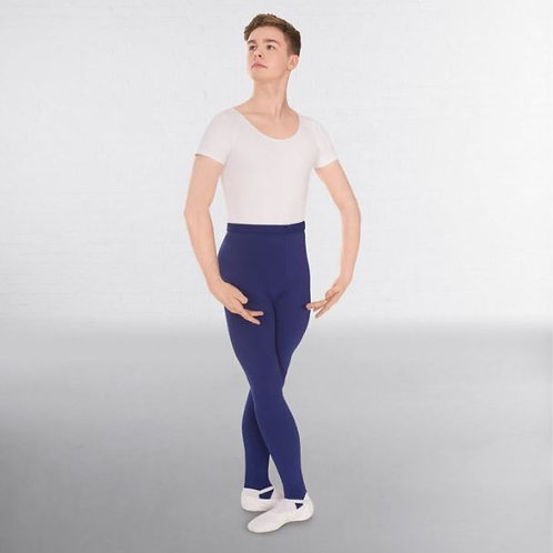 Boys' Navy Blue Stirrup Leggings