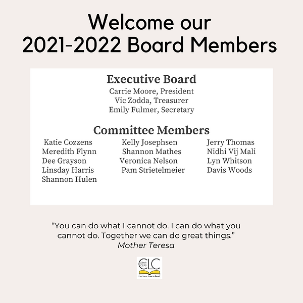 Welcome our 2021-2022 Board Members 2.pn