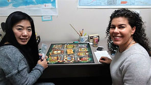 Adult students learn English through games in Memphis