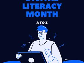 Digital Literacy Month: Digital Literacy from A to Z