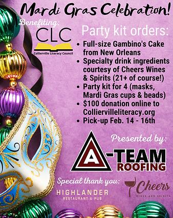 CLC Mardi Gras Fundraiser - flyer UPDATE