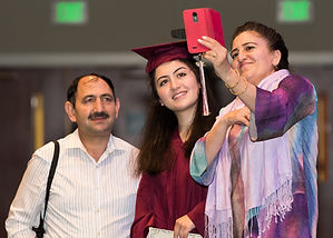 ESOL Students proudly graduate with their degree