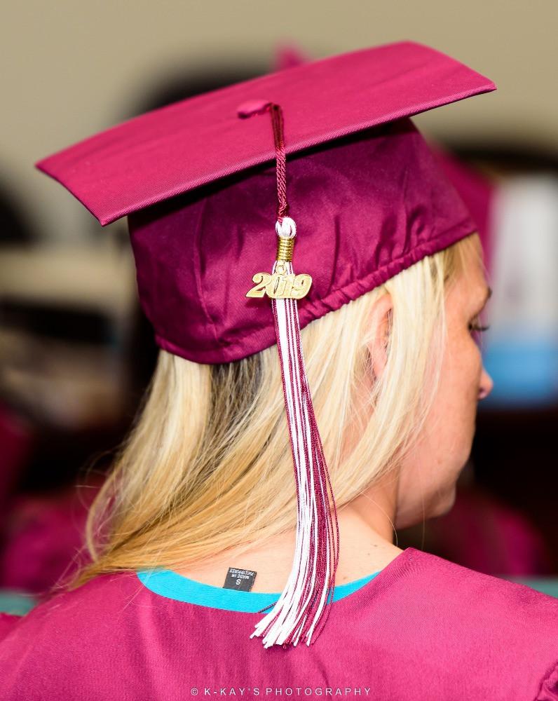 2019 tassel at graduation
