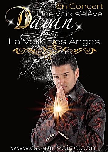DAYAN LA VOIX DES ANGES AFFICHE VIERGE B