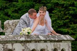 mariage bisous