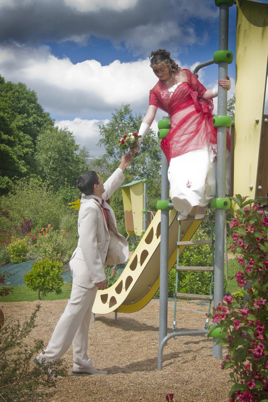 mariage tobogan