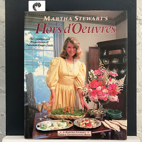 Martha Stewart's Hors d'Oeuvres (Used - Good Condition)