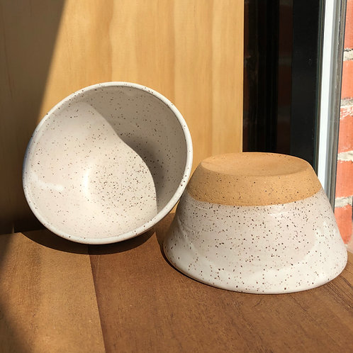 Douris Ceramics White Bowl