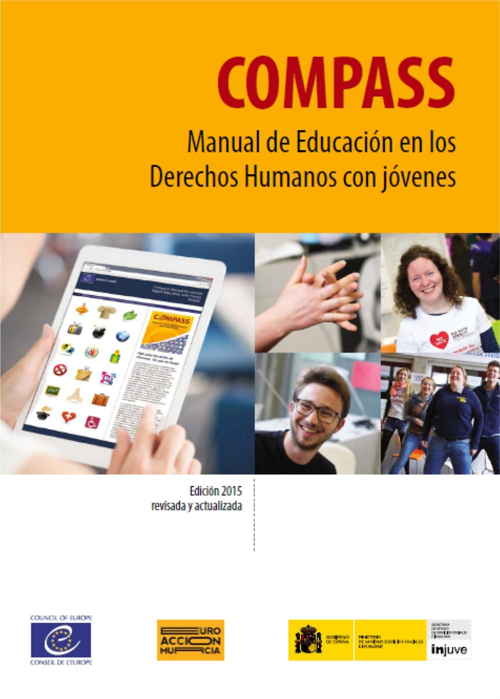 Manual de Educación en los Derechos Humanos con jóvenes. Consejo de Europa. Una detallada fundamentación conceptual sobre Educación en Valores y Derechos Humanos, desde una visión global e internacional. Incluye Actividades y Dinámicas de Grupo orientadas a los jóvenes.