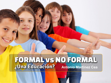Formal vs No formal ¿Una educación?