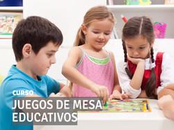 Curso JUEGOS DE MESA EDUCATIVOS
