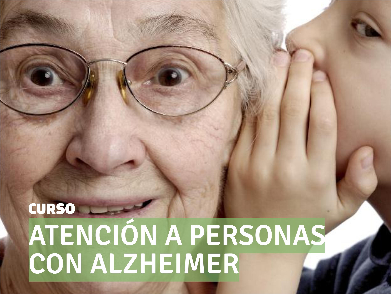 Atención mayor con Alzheimer