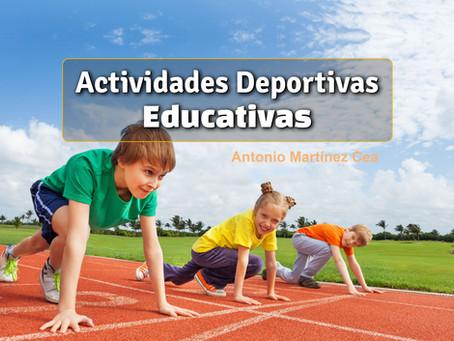 La Actividad Deportiva Educativa