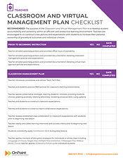 ClassroomVirtualManagement_Checklist_Tea