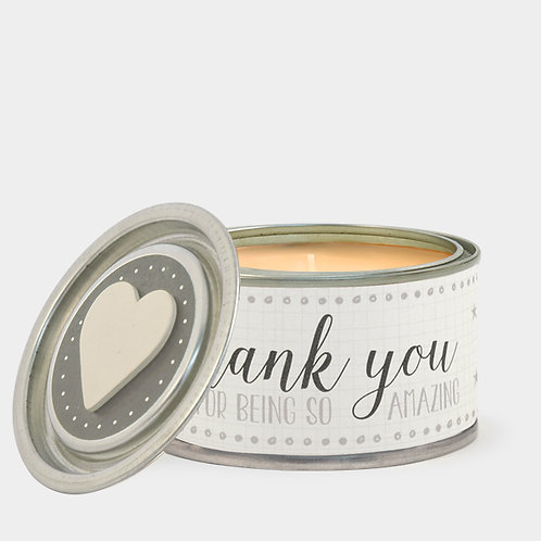 East of India Thank You for being Amazing Candle