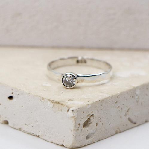 'Bella' Sterling Silver stacking ring