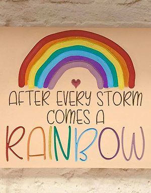 Rainbow Plaque