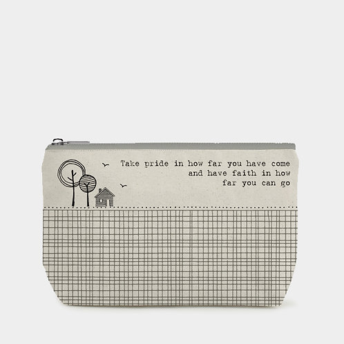 East of India Toiletry Bag - Take Pride.....