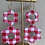 Thumbnail: red gingham double flowers