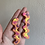 Thumbnail: abstract squiggle studs