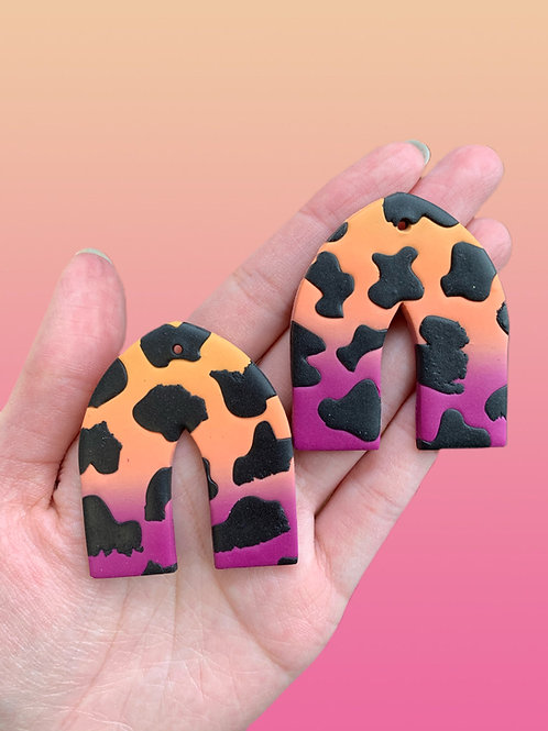sorbet sunset cow pointed arches
