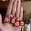 Thumbnail: tangerine flower scalloped arches