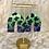 Thumbnail: blue lagoon cow print pointed arches