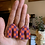 Thumbnail: purple and orange checkered pointed arches