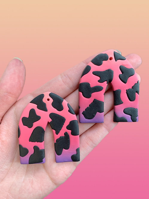 cotton candy cow pointed arches