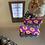 Thumbnail: tangerine flower bubble barrette duo