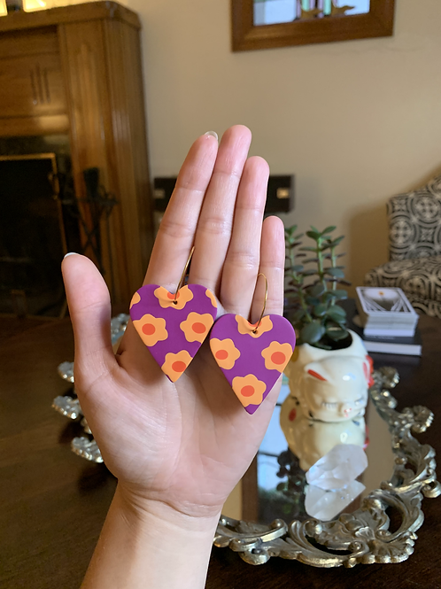 tangerine flower hearts