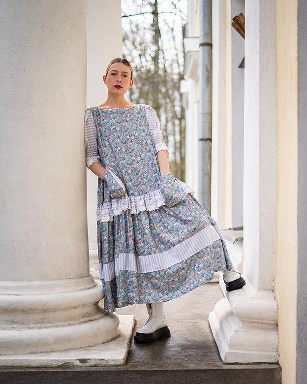 s385 � Sustainable Fashion-Šviesi suknel