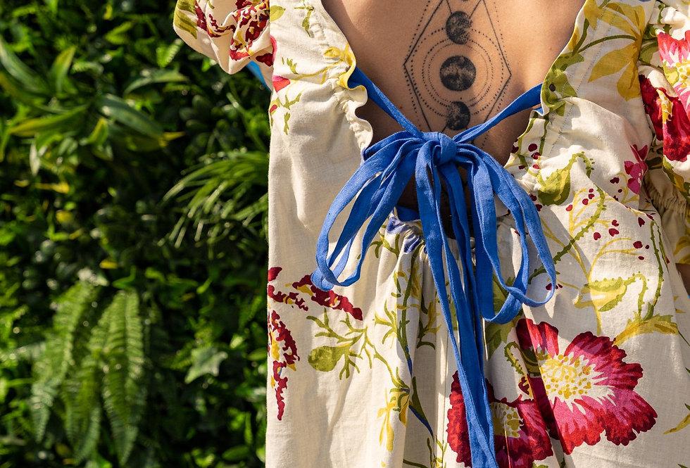 Reversible Flower Dress