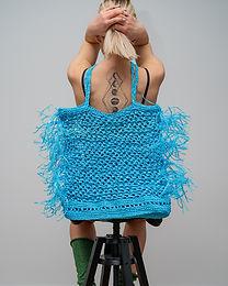 Crochet Fishing Net Bag Made to Order