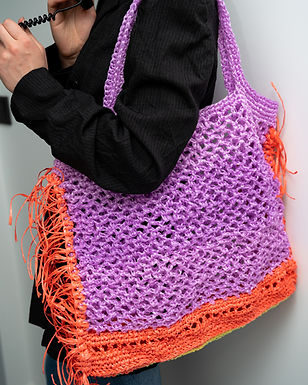 Crochet Fishing Net Bag